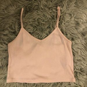 Baby Pink Forever 21 Crop Top